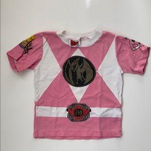 Vintage Pink Power Rangers Tee